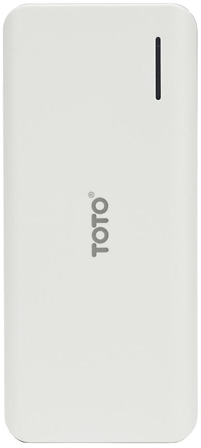 Портативная батарея TOTO TBG-46 Power Bank 12500 mAh 2USB 3,1A Li-Ion White - Фото 1