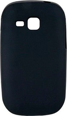 Чехол-накладка Drobak Elastic PU для Samsung S5292 Star Black - Фото 1