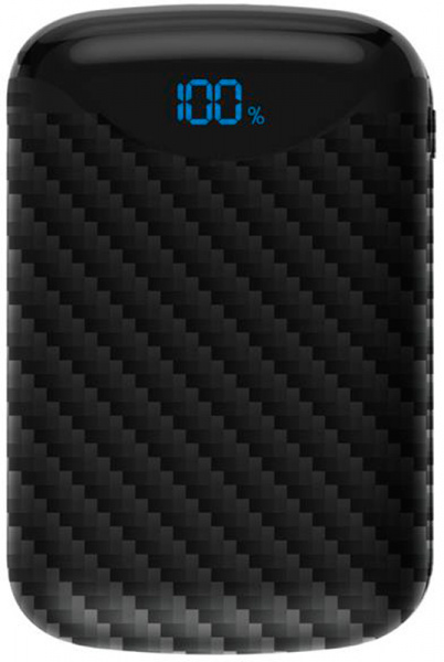 Cager C10 Power Bank 10000 mAh Li-Polimer Black - фото