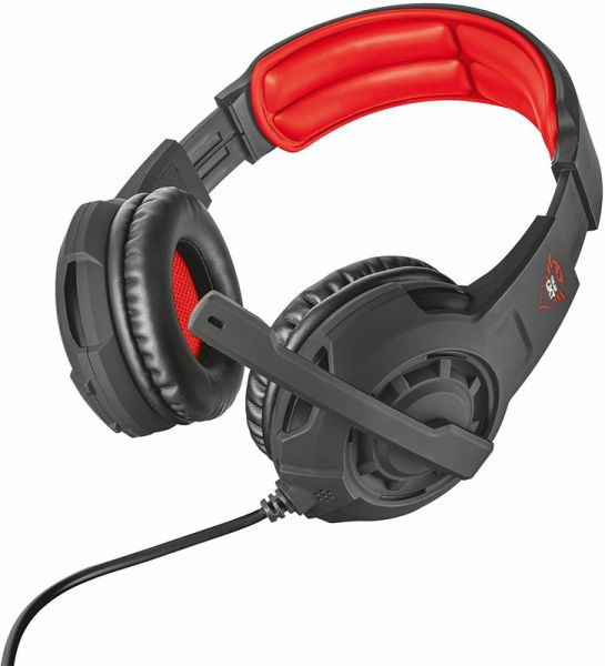 Trust GXT 310 Gaming Headset Black/Red - фото