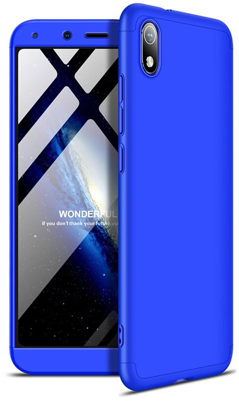 GKK 3 in 1 Hard PC Case Xiaomi Redmi 7A Blue