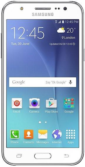 Смартфон Samsung Galaxy J5 J500H/DS White - Фото 1