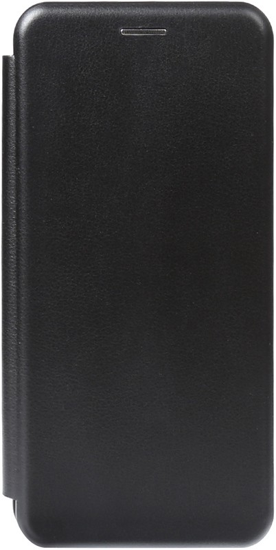 TOTO Book Rounded Leather Case Huawei Y5 2018 Black