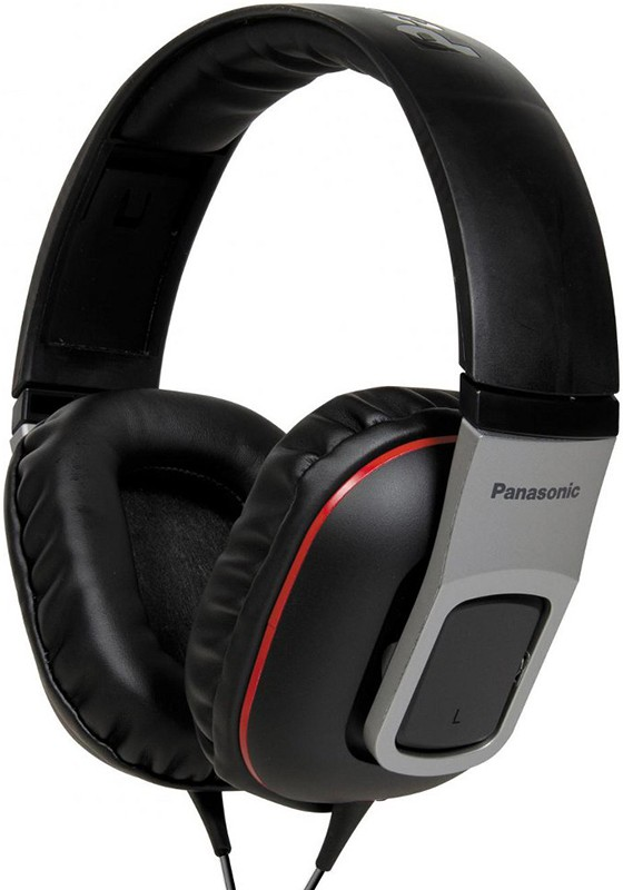 Наушники Panasonic RP-HT460E-K Black - Фото 1