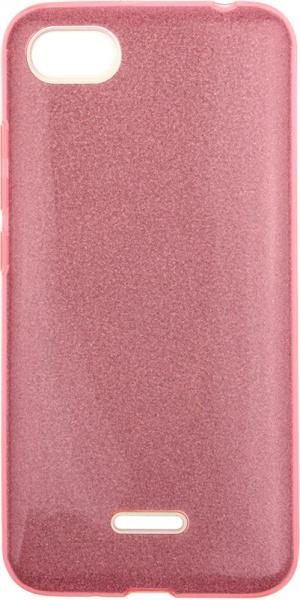 TOTO TPU Case Rose series 3 IN 1 Xiaomi Redmi 6A Pink - фото