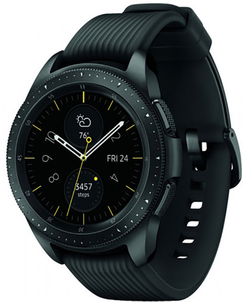 Samsung Galaxy Watch 42mm Midnight Black - фото
