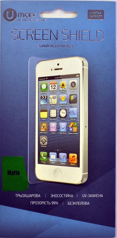 Защитная пленка Umax Защитная пленка для iPhone 6 Plus/6S Plus matte - Фото 1