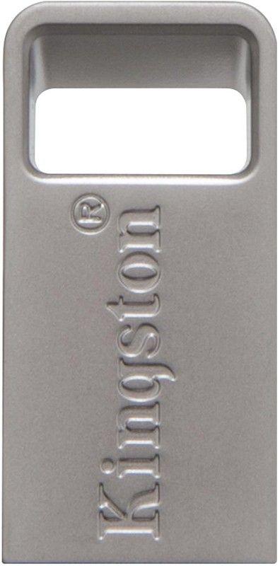 USB Flash Kingston DataTraveler Micro 3.1 16Gb USB 3.1 Silver - Фото 1
