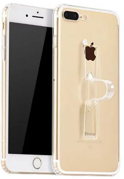 HOCO TPU case Light series with Finger Holder iPhone 7 Plus Transparent - фото