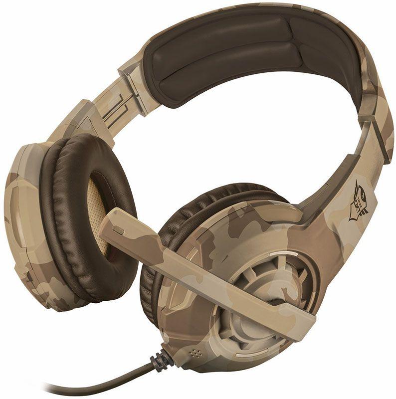 Купить Наушники и гарнитуры, Trust GXT 310D Radius Gaming Headset Desert Camo