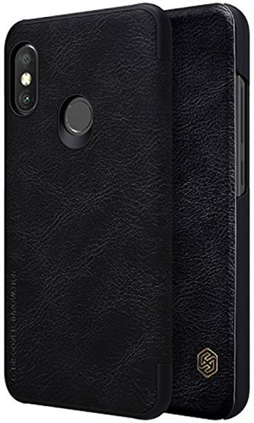 Nillkin Qin Leather Case Xiaomi Mi A2 Lite (Redmi 6 Pro) Black - фото