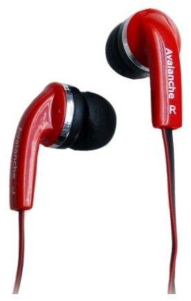 Наушники Avalanche AEF-MP3-296 красные - Фото 1