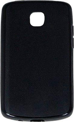 Чехол-накладка Drobak PU для LG Optimus L1 II Dual E410 Black - Фото 1