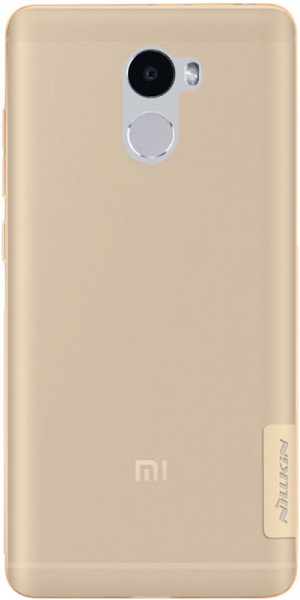 Nillkin TPU Nature Xiaomi Redmi 4 Brown - фото