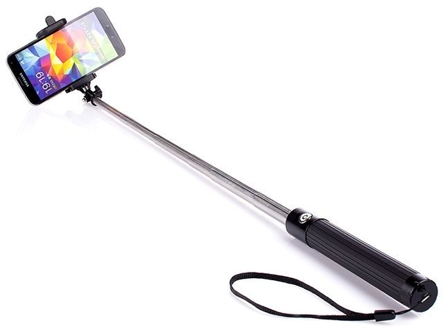 Монопод Drobak Монопод Selfie stick (Black) - Фото 1