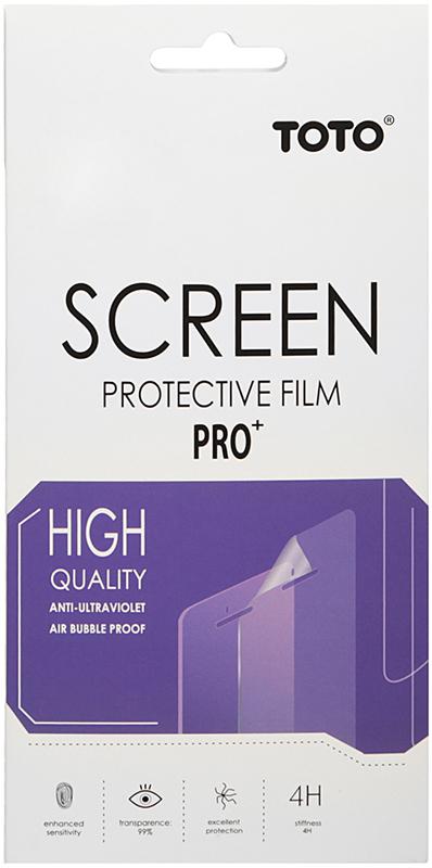 Защитная пленка TOTO Film Screen Protector 4H Microsoft Lumia 430 DS - Фото 1