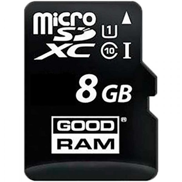 Goodram microSDHC class 10 UHS-1 SD adapter OTG Card reader 8Gb