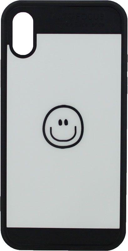Купить Чехлы для телефонов, TOTO TPU Cartoon Case IPhone X Smile Black