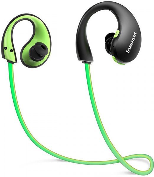 Tronsmart Encore Gleam Bluetooth Sports Earphone Green - фото