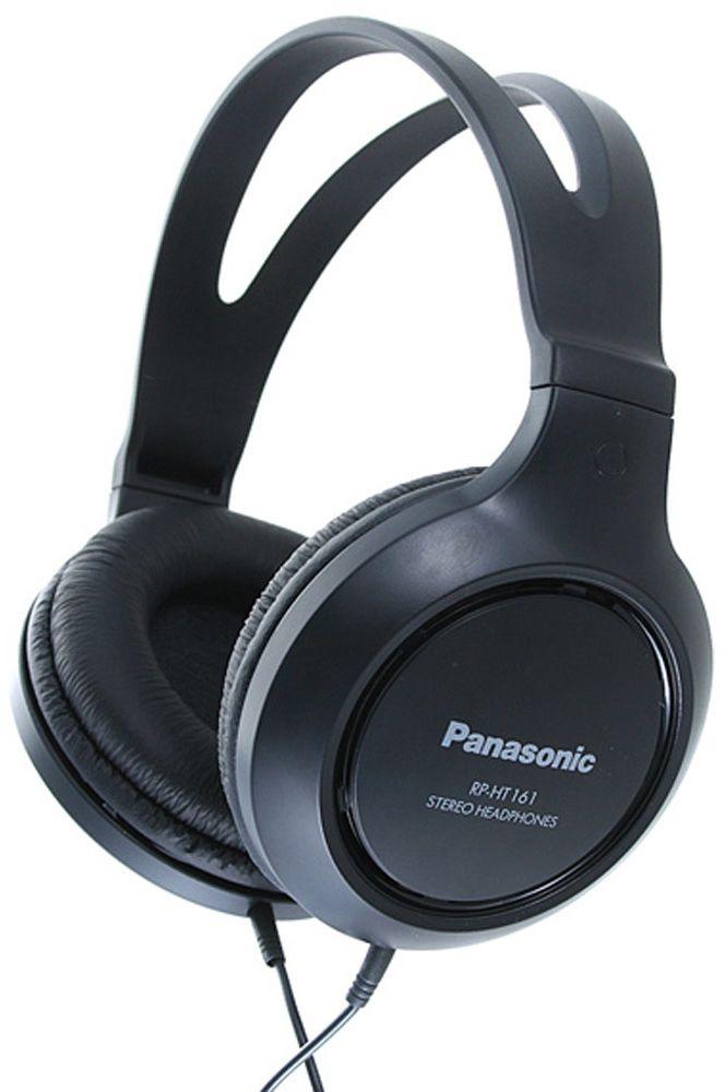 Купить Наушники и гарнитуры, Panasonic RP-HT161E-K Black