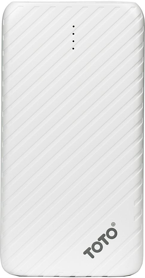 Портативная батарея TOTO TBG-14 Power Bank 4000 mAh 1USB 1A Li-pol White - Фото 1