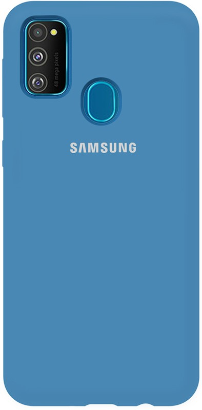 TOTO Silicone Full Protection Case Samsung Galaxy M30s Navy Blue