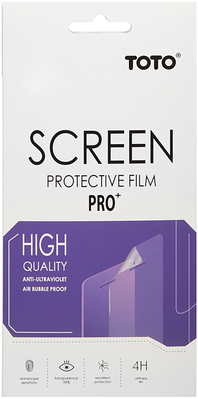 Защитная пленка TOTO Film Screen Protector 4H Samsung Galaxy J1 J100H/DS - Фото 1