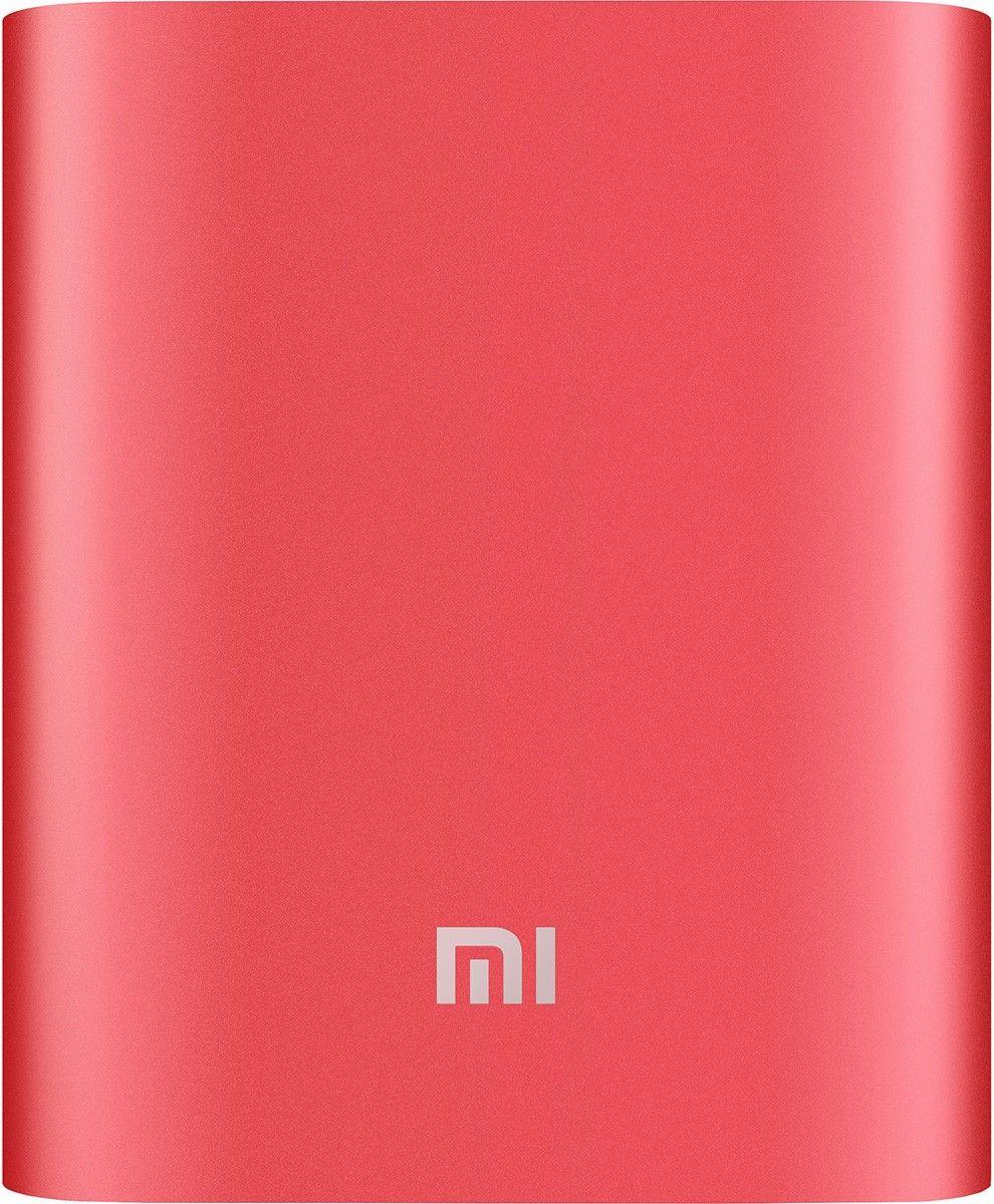 Портативная батарея Xiaomi Mi Power Bank 10400mAh Red - Фото 1