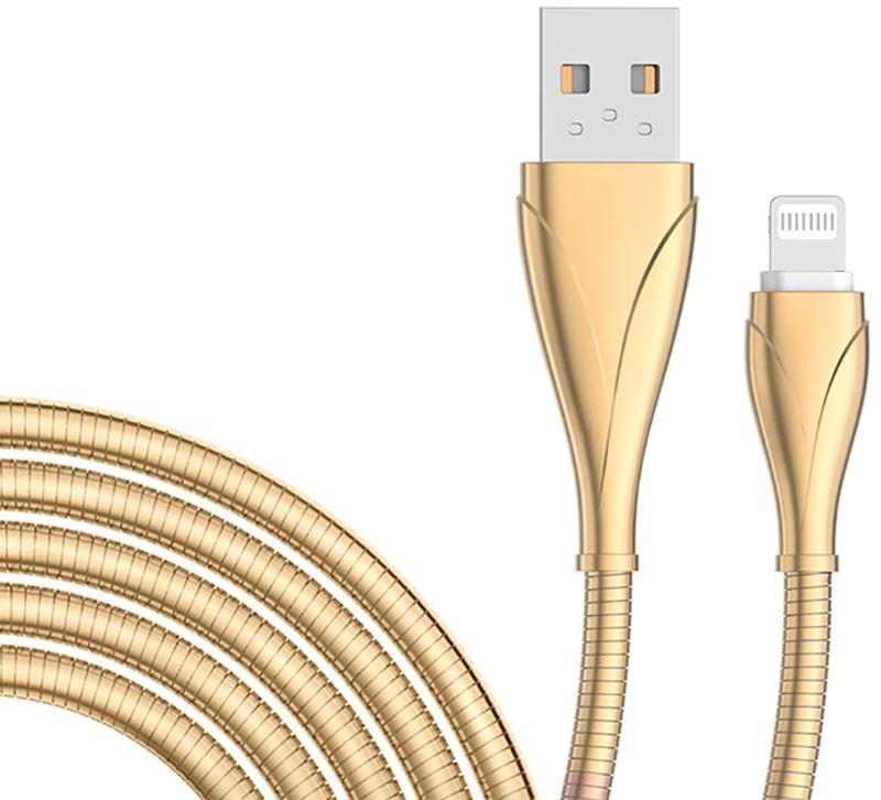 Купить Кабели и переходники, LDNIO LS28 Lighting cable 1m Gold