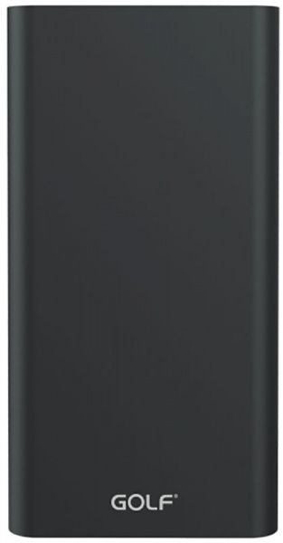 GOLF Power Bank 10000 mAh Edge 10 Li-pol Black
