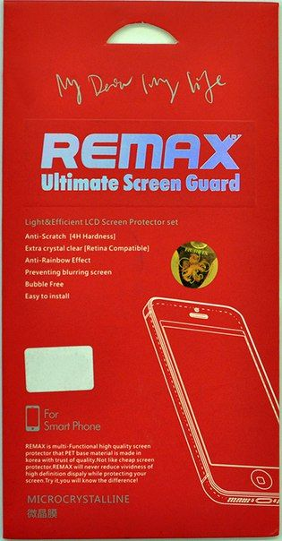 Защитное стекло Remax iPhone 5/5S/5C front and back - Фото 1