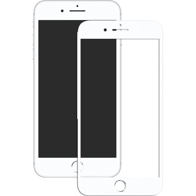 Купить Защитные пленки и стекла, Mocolo 3D Full Cover Tempered Glass iPhone 7 Matt White