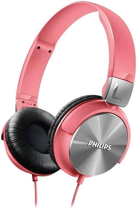 Наушники Philips SHL3160PK/00 Pink - Фото 1
