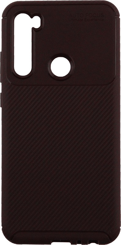 Купить Чехлы для телефонов, TOTO TPU Carbon Fiber 1, 5mm Case Xiaomi Redmi Note 8 Coffee