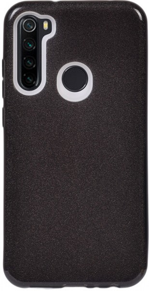 TOTO TPU Shine Case Xiaomi Redmi Note 8 Black