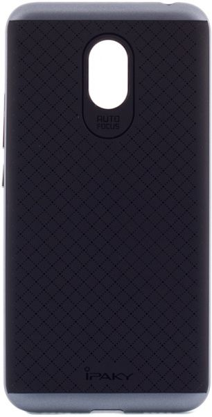 Ipaky TPU+PC Meizu M3 Note Black/Grey - фото