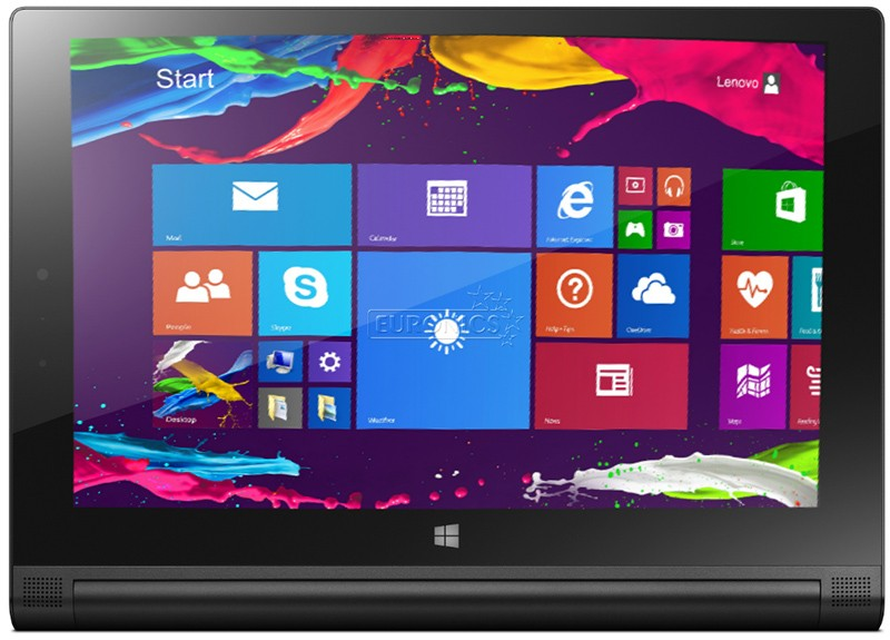 Планшет Lenovo Yoga Tablet 2-1051 LTE 32GB Windows Black - Фото 1