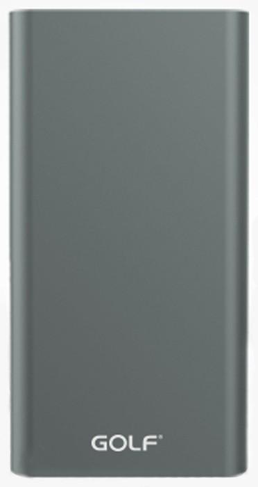 Портативная батарея GOLF Power Bank 10000 mAh Edge 10 Li-pol Grey - Фото 1