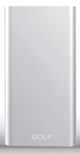 GOLF Power Bank 10000 mAh Edge 10 Li-pol Silver