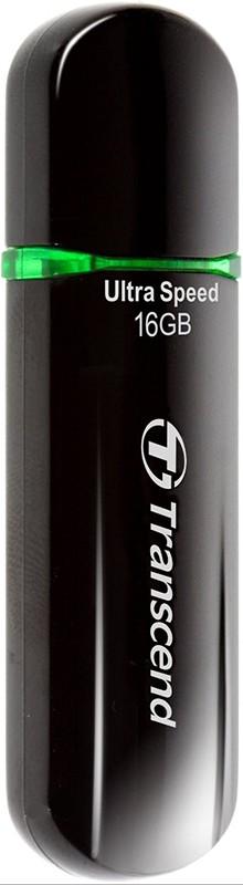 USB Flash Transcend JetFlash 600 16Gb Black - Фото 1