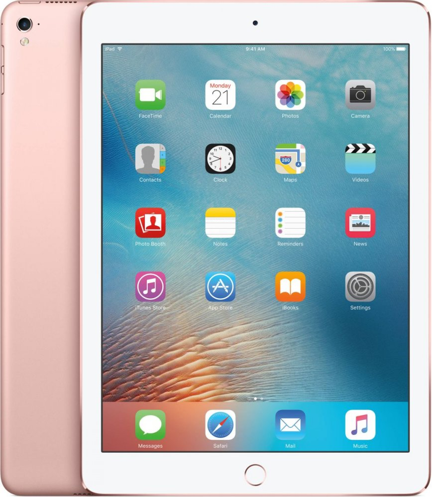 Планшет Apple A1673 iPad Pro 9.7 Wi-Fi 128GB (MM192RK/A) Rose Gold - Фото 1