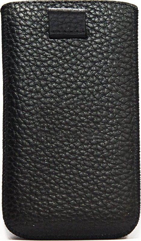Чехол-карман Blackfox кожа для Nokia С 5 Флотар черный - Фото 1