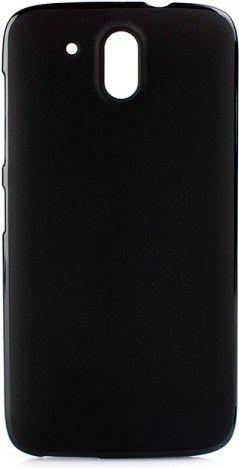 Чехол-накладка Drobak Elastic PU для HTC Desire 526/526G Dual Sim Black - Фото 1