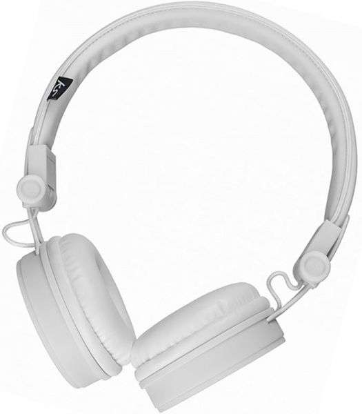 KitSound Malibu on-ear headphones & mic White - фото