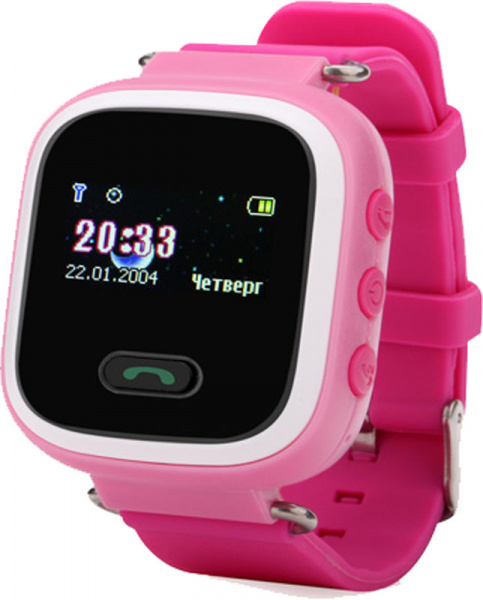 UWatch Q60 Kid smart watch Pink - фото