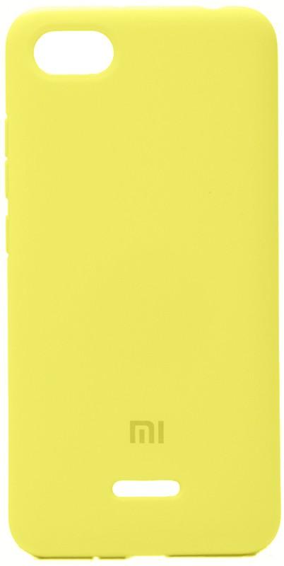 Купить Чехлы для телефонов, TOTO Silicone Case Xiaomi Redmi 6A Lemon Yellow
