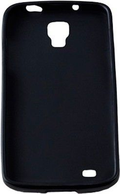 Чехол-накладка Drobak Elastic PU для Samsung I 8190 S3 Mini Black - Фото 1