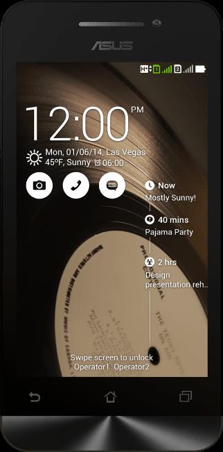 Смартфон ASUS ZenFone 4 A400CXG Black - Фото 1