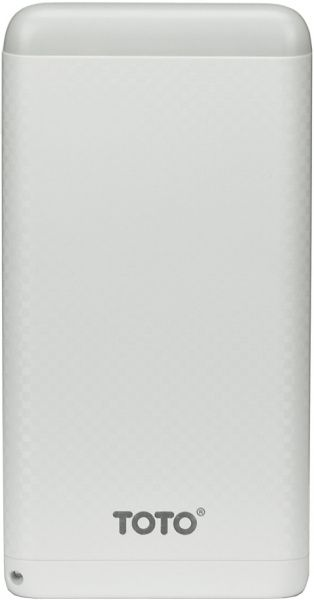 Портативная батарея TOTO TBG-15 Power Bank 8000 mAh 2USB 3,1A Li-pol White