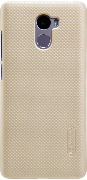 Nillkin Super Frosted Shield Xiaomi Redmi 4 Gold - фото